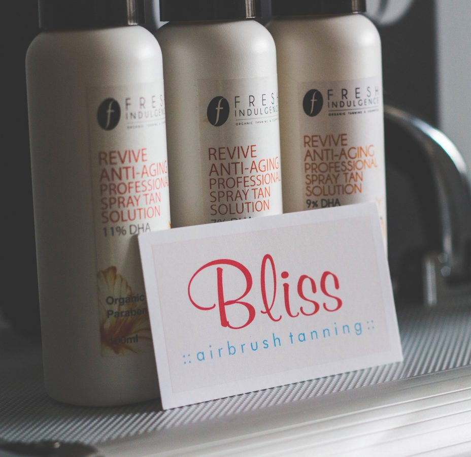 Healthy Skin with Bliss Airbrush Tanning