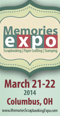 Memories Scrapbooking Expo